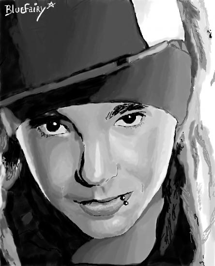 Tom Kaulitz by Bluefairy